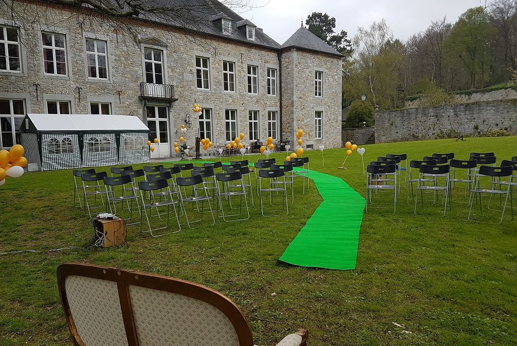 Freie Trauung Chateau Belgien