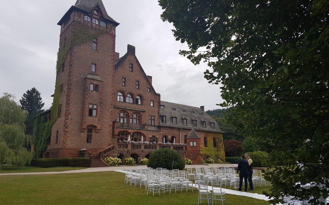 Traumhochzeit Schloss Saareck
