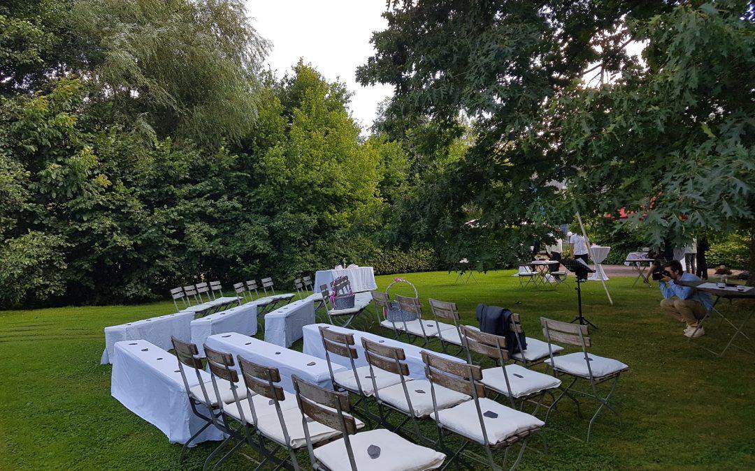 Hochzeit im Weingut in Willtingen